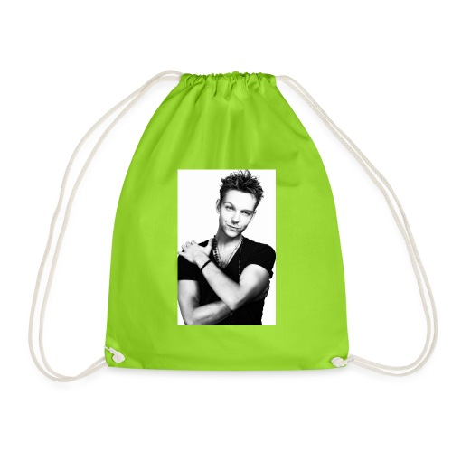 handsome guy - Drawstring Bag