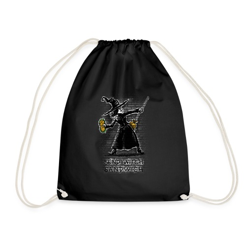Send Witch Sandwich - Drawstring Bag