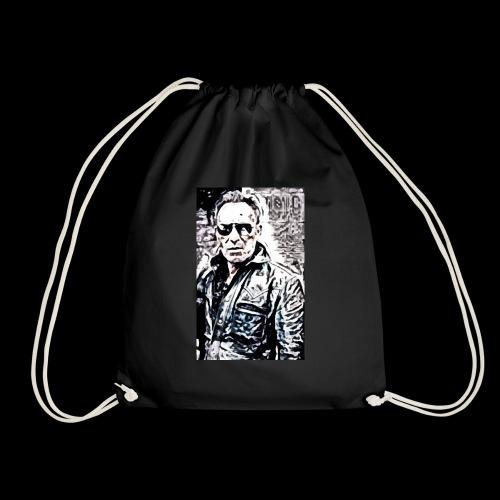 Bruce in Shades - Drawstring Bag