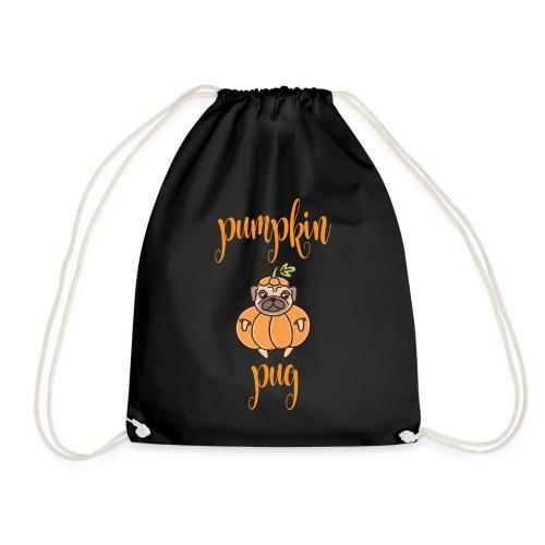 Pumpkin Pug - Turnbeutel