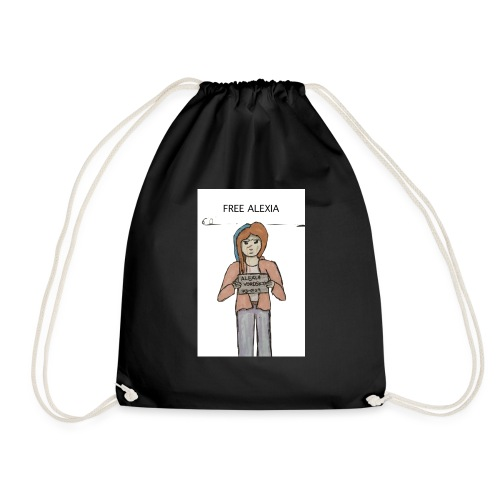 Free Alexia Design - Drawstring Bag