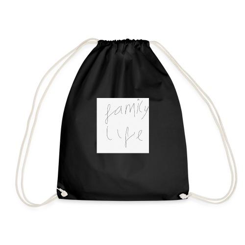 Family life bag - Drawstring Bag