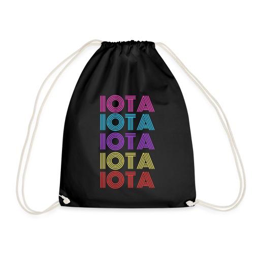 IOTA RETRO - 80s Kryptowährung - Turnbeutel