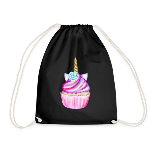 unicorn cupcake - Sacca sportiva