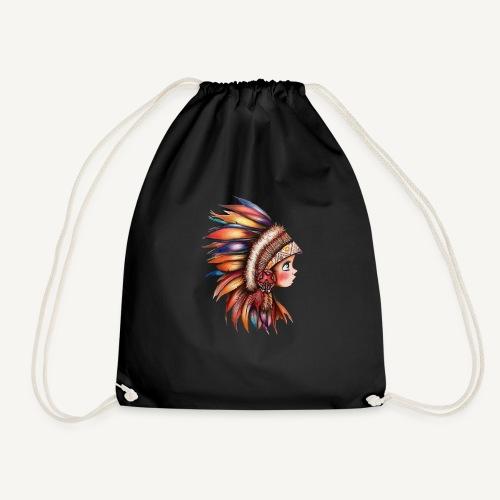 Native American Child - Mochila saco