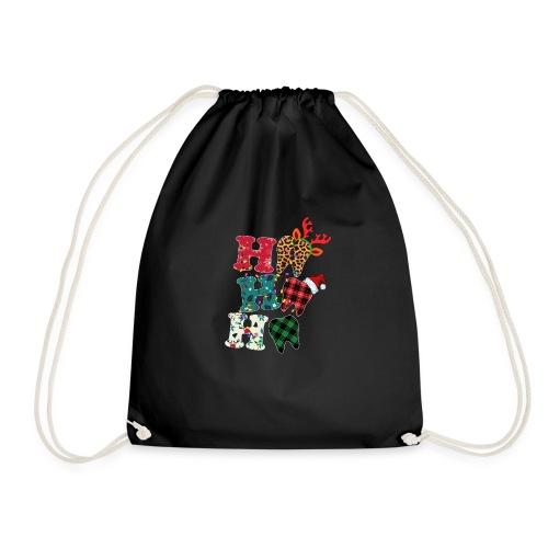 Ho Ho Ho Tooth - Drawstring Bag