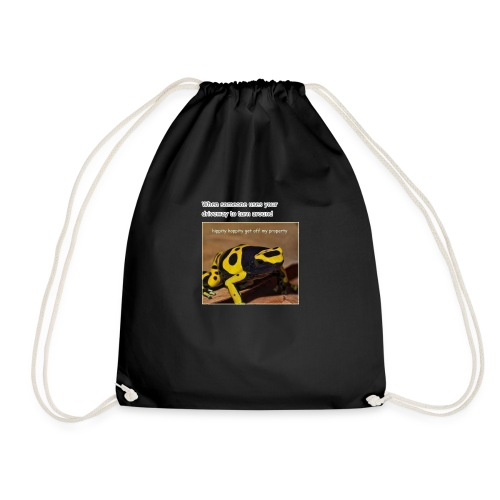 Hippity Hoppity - Drawstring Bag