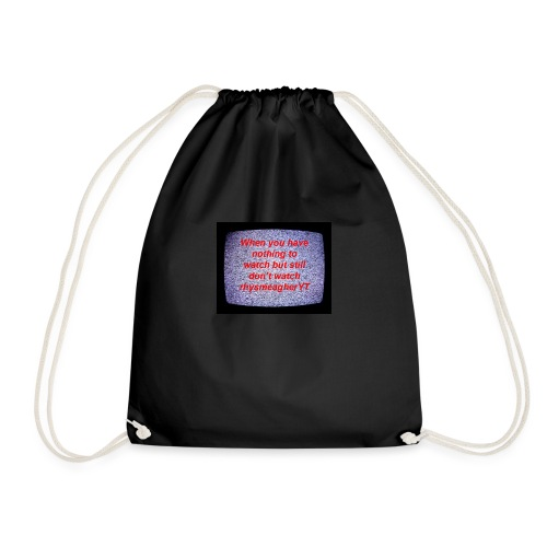 When ones - Drawstring Bag
