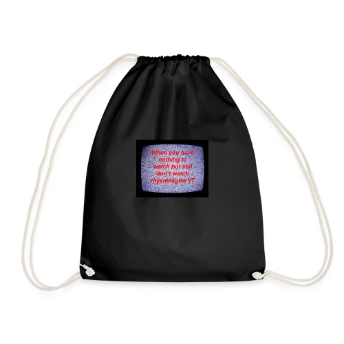 When ones - Drawstring Bag