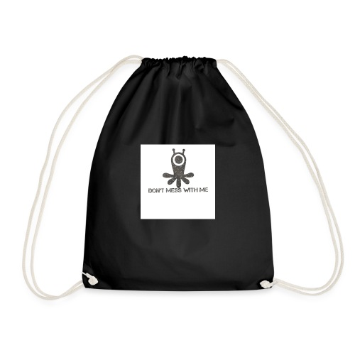 Dont mess whith me logo - Drawstring Bag