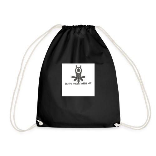 Dont mess whith me logo - Drawstring Bag