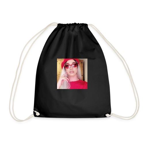 Isla Red - Drawstring Bag
