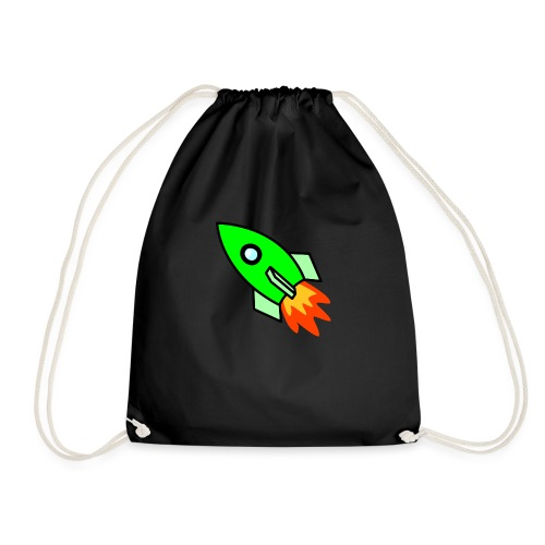 neon green - Drawstring Bag