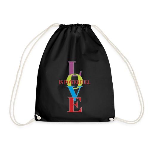 Love is powerfull - Turnbeutel