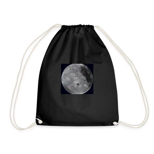 Moon face - Drawstring Bag