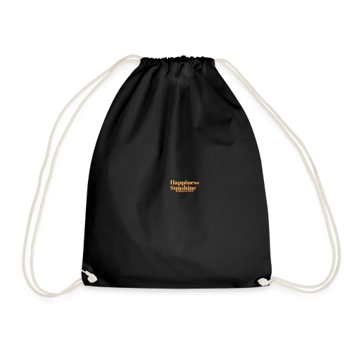 HAPPINESS SUNSHINE KINDNESS LOVE - Drawstring Bag