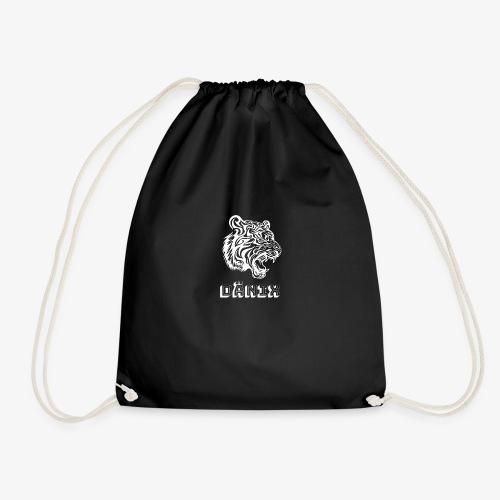 Tiger White - Drawstring Bag
