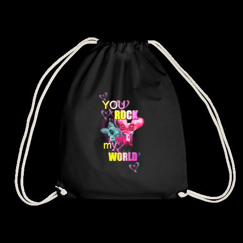 You Rock my World ♥ - Turnbeutel