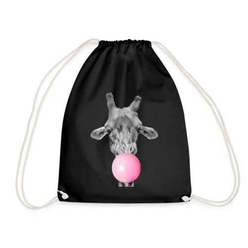 Giraffe bubblegum - Drawstring Bag
