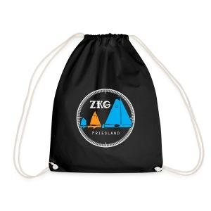ZKG Logo wit - Gymtas