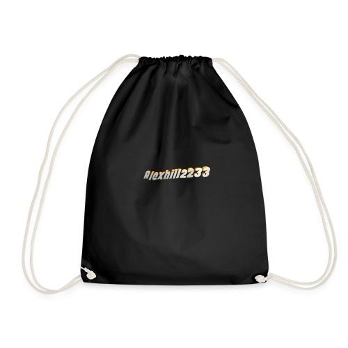 Alexhill2233 Logo - Drawstring Bag