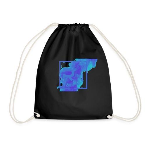 Rouge Nation Logo Smoke Liquid Ink - Drawstring Bag