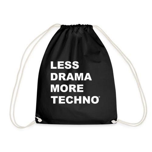 Less Drama More Techno - Sac de sport léger