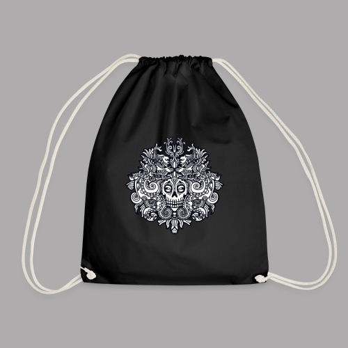 xibalba black - Drawstring Bag