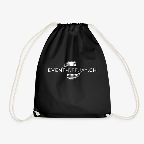 EventDeejay Logo White png - Turnbeutel