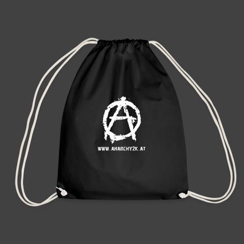 Anarchy2k Logo inkl. Domain - Turnbeutel