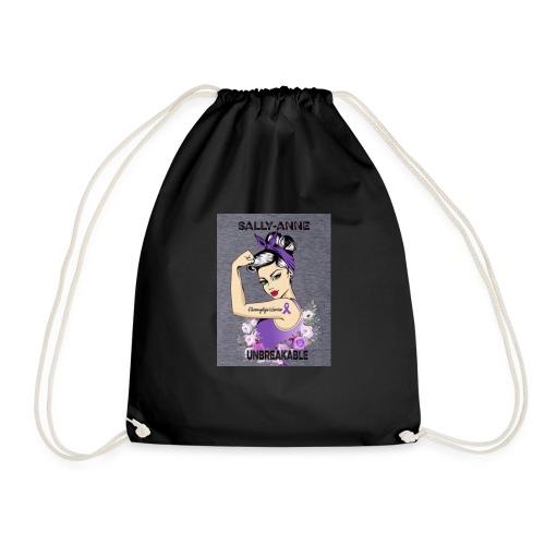 Sally-Anne unbrakeble line - Drawstring Bag