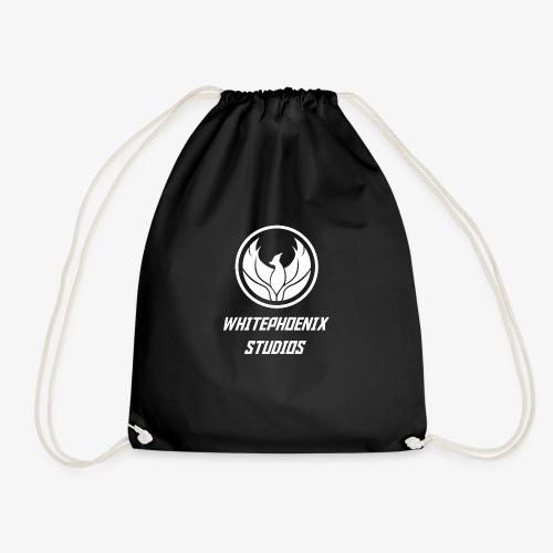 WHITE PHOENIX OFFICIAL LOGO - Drawstring Bag