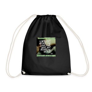 love your body - Drawstring Bag