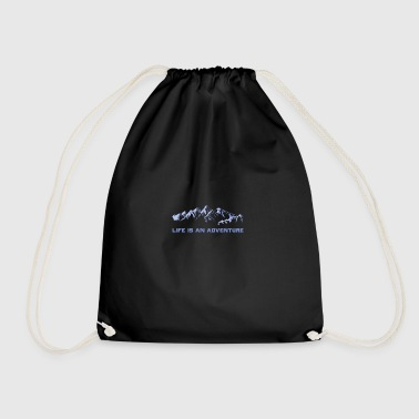 mountains - Drawstring Bag