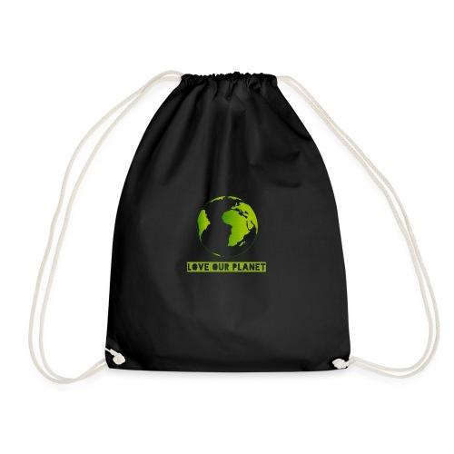 LOVE OUR PLANET - Drawstring Bag