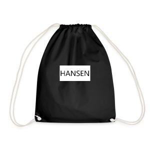 HANSENLOGO hvid - Sportstaske