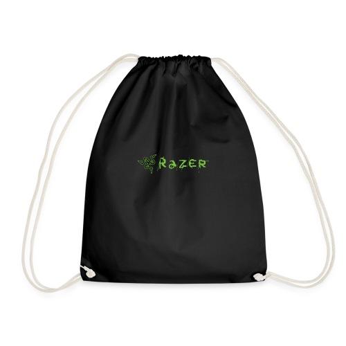 Razer Logo Transparent Background - Drawstring Bag