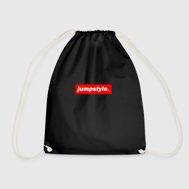 techno mixer red bass bpm jumpstyle - Drawstring Bag