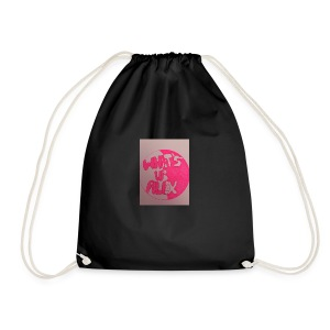 Alex bell - Drawstring Bag