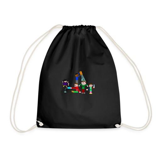 Water Fight - Drawstring Bag