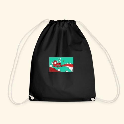008 Dragon - Drawstring Bag