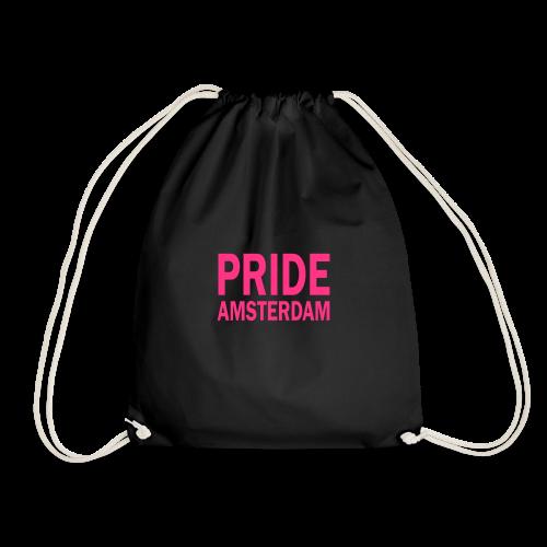 Pride Amsterdam in roze - Gymtas