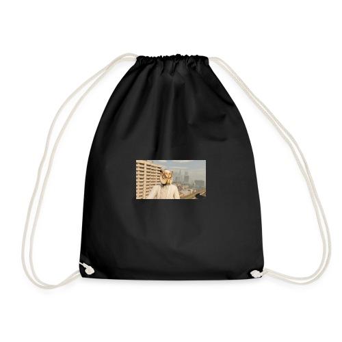 White Owl Mask - Drawstring Bag