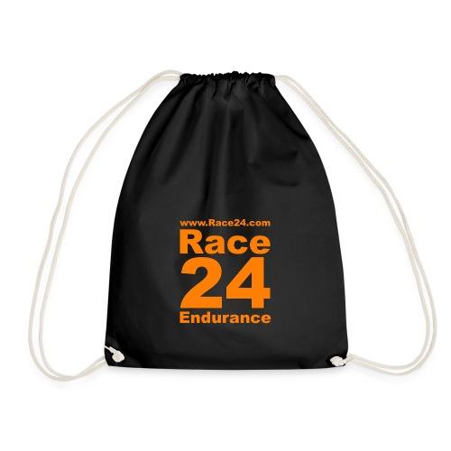 Race24 Logo in Orange - Drawstring Bag