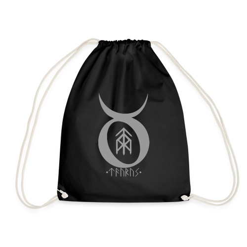 Taurus Bindrune - Drawstring Bag