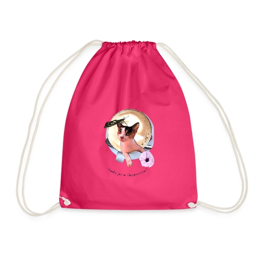 Ready for a cappuchino? - Drawstring Bag