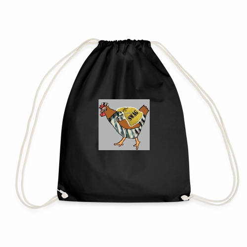 SWAG Chicken Logo - Drawstring Bag