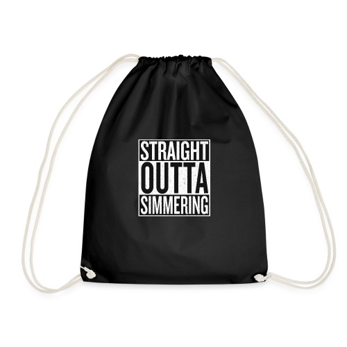 Straight Outta Simmering - Turnbeutel