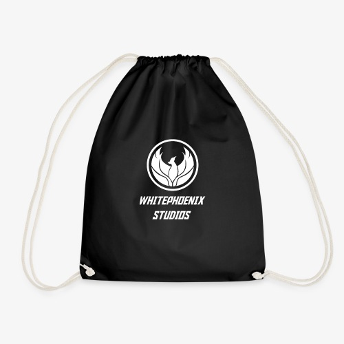 WHITE PHOENIX OFFICIAL LOGO - Drawstring Bag