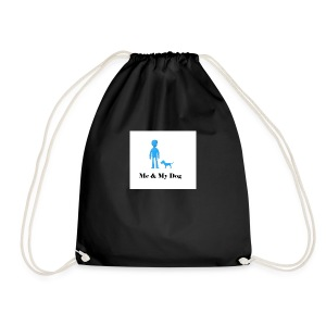 Me and My Dog - Drawstring Bag